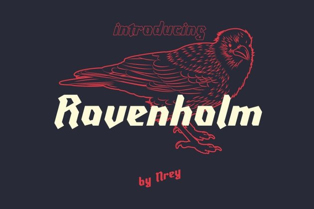 ravenholm modern blackletter