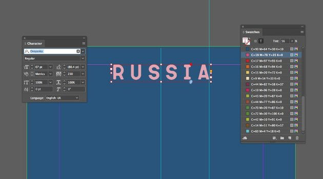 russia title