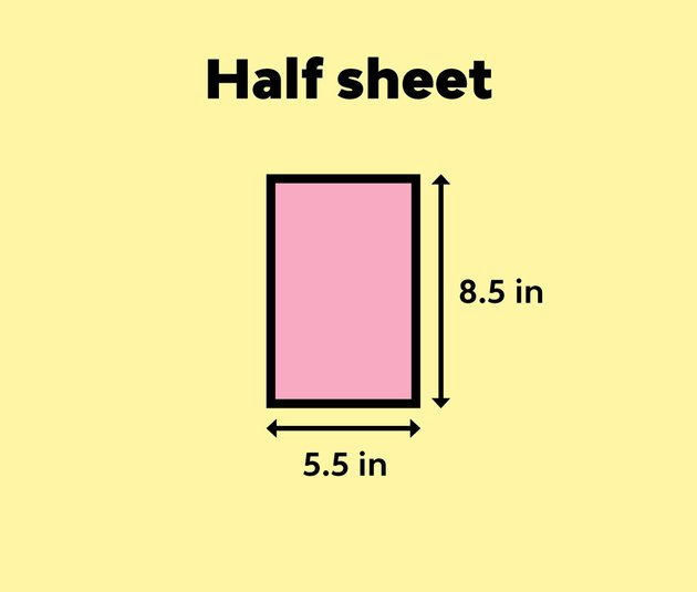 half sheet