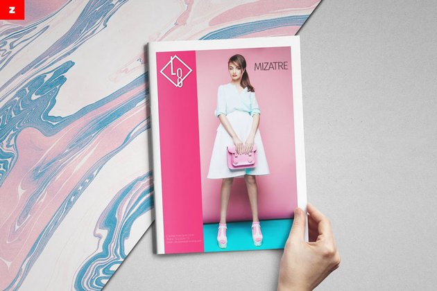fashion catalog professional booklet template