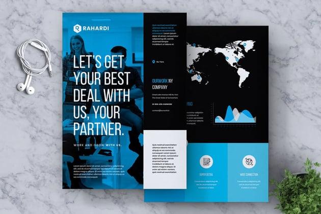 corporate flyer brochure template
