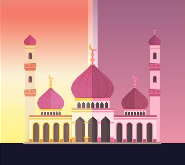 mosque light effect
