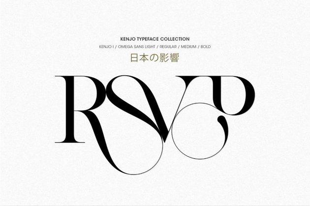 kenjo font
