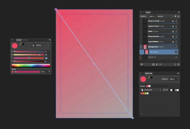 gradient fill tool