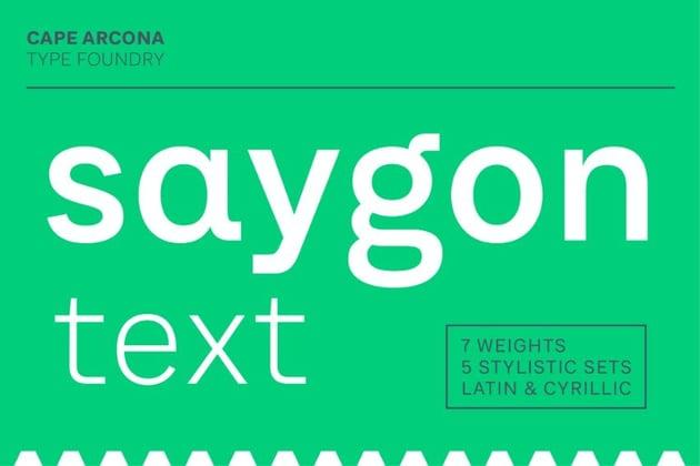 saygon text