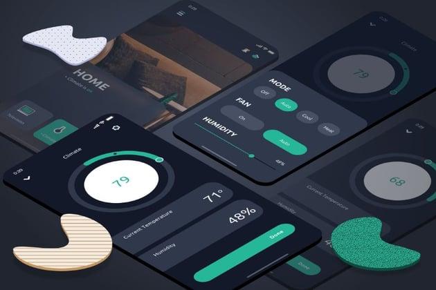 smart home ui app