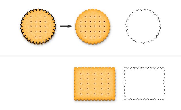 save and apply the biscuit style
