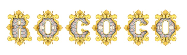 how to arrange extra decorations on letters O