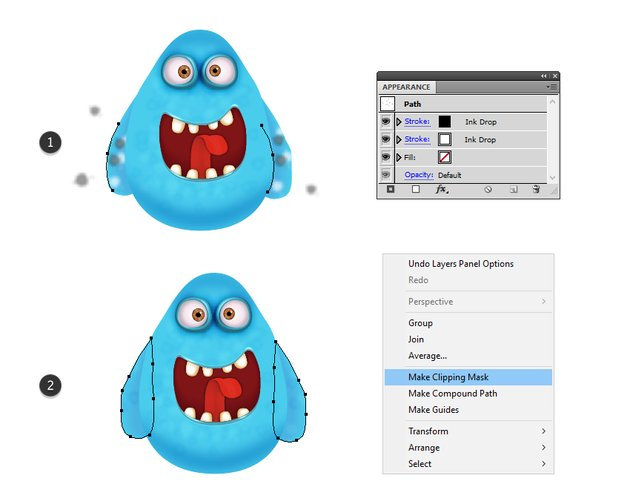 how to add texture on the monsters arms
