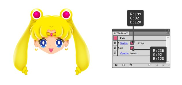 how to draw sailor moons mouth