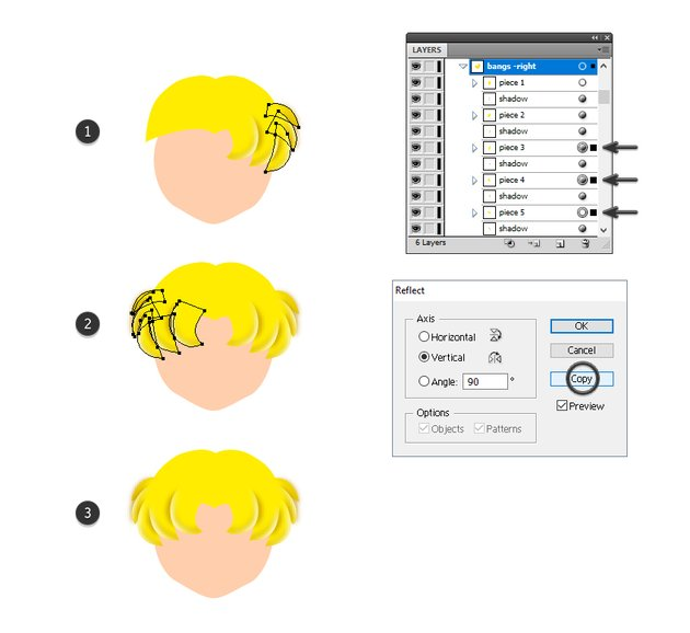 how to finish sailor moons bangs