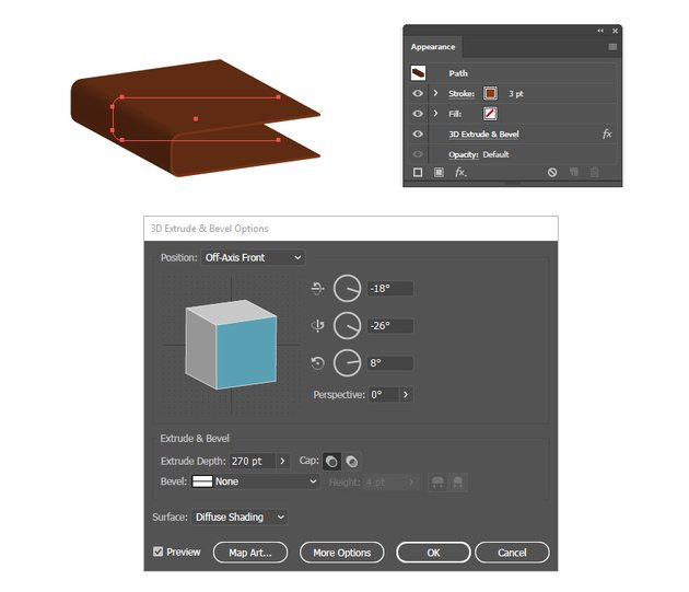 how to create a 3D book