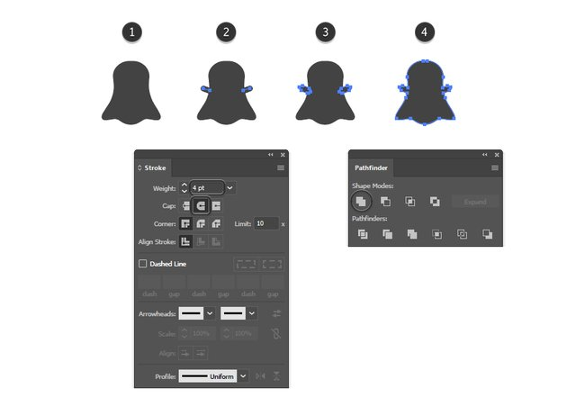 how to complete the Snapchat vector logo