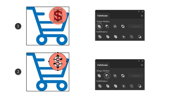 how to make a dollar minimal icon