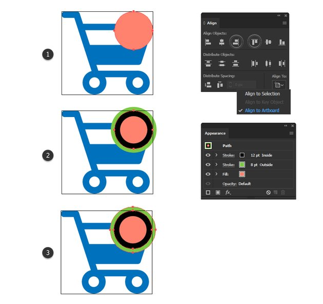 how to create a plus sign minimal icon
