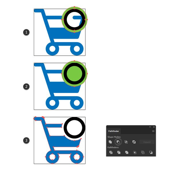 how to cut the purchase icon