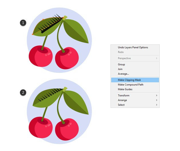 how to mask a texture brush in Illutrator