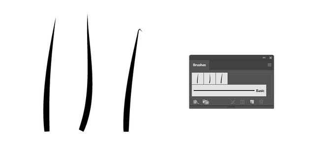 how to make illustrator brushes to create vector grass
