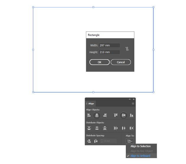 how to set up the brochure layout trim line