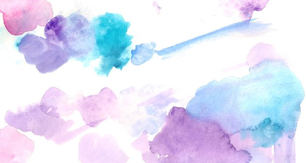 A zoomed in version of the watercolor texture