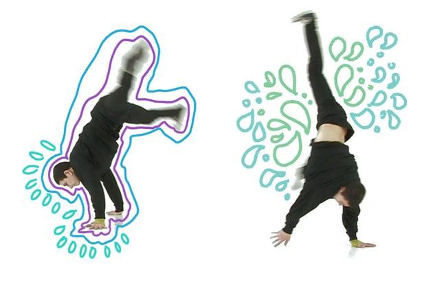 Draw around your dancer