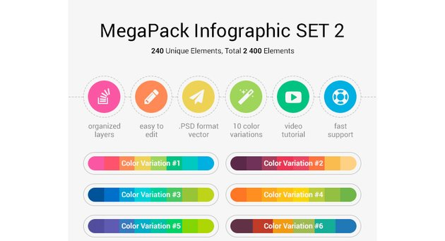 MegaPack Infographic Set 2