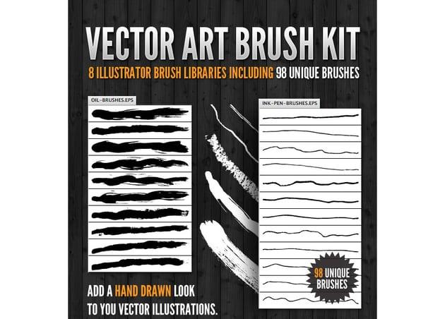 Vector Art Brush Kit
