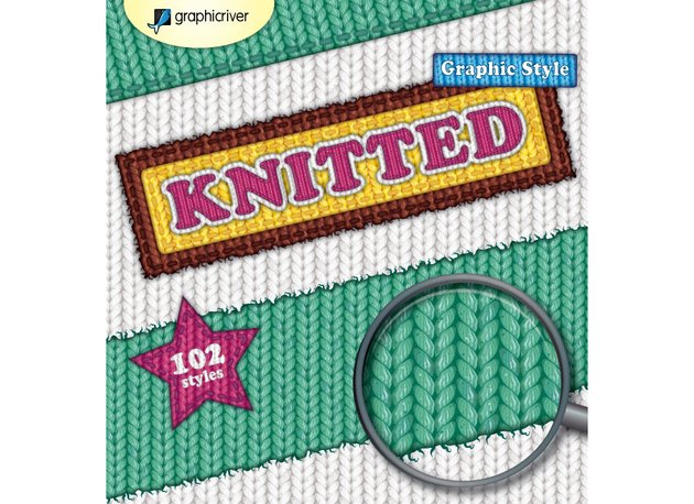 Knitted Graphic Style