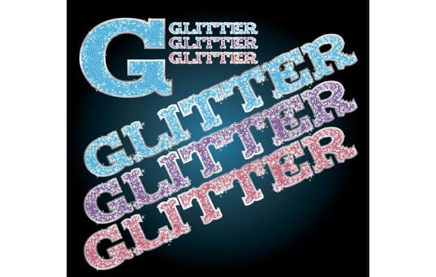 Glitter Illustrator Graphic Style