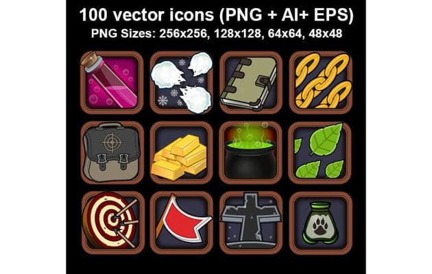 Common Game Icon Asset