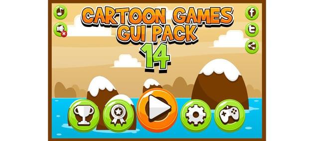 Cartoon Games GUI Pack 14