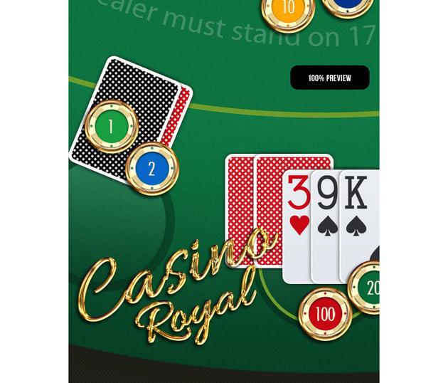 Casino Card Game GUI