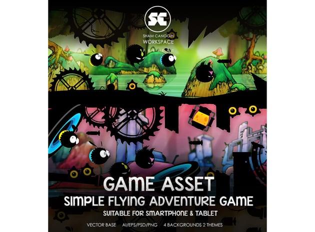 Flying Adventure Dark Style Game Kit