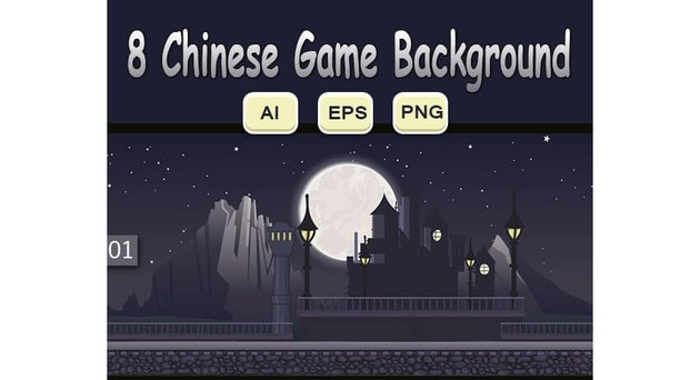 8 Chinese Game Background
