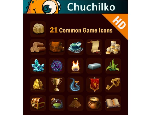 Common Game Icon Pack HD