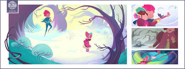 Peter Pan - visual development