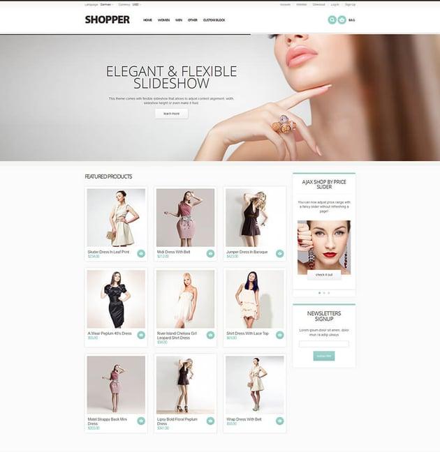 Shopper - Magento Theme Responsive Retina Ready