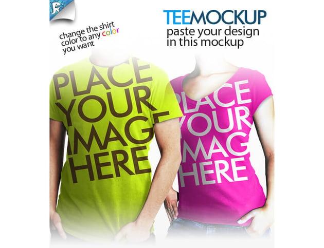 Tee Mockup - Your clothing