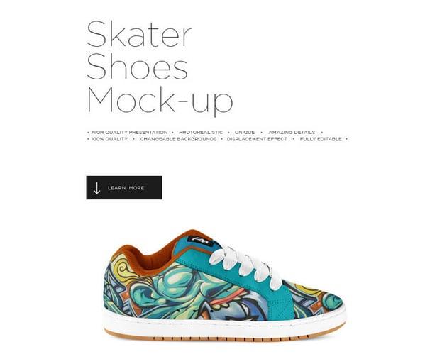 Skate Shoes Mock-up