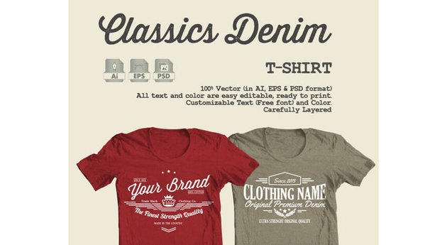 Classics Denim T-Shirt