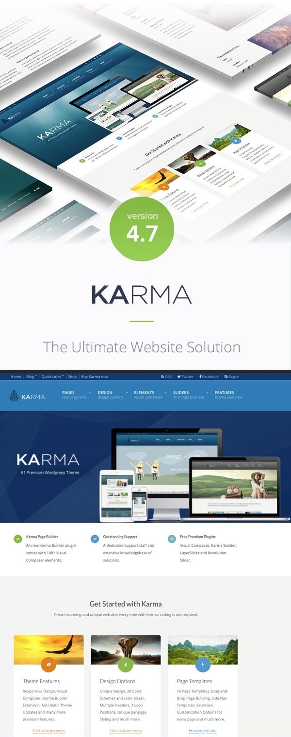 Karma WP Business Theme