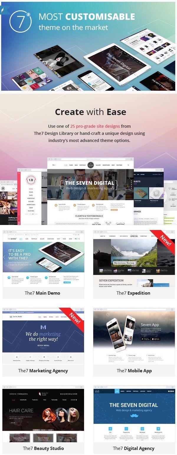 The7 WordPress Theme for Business