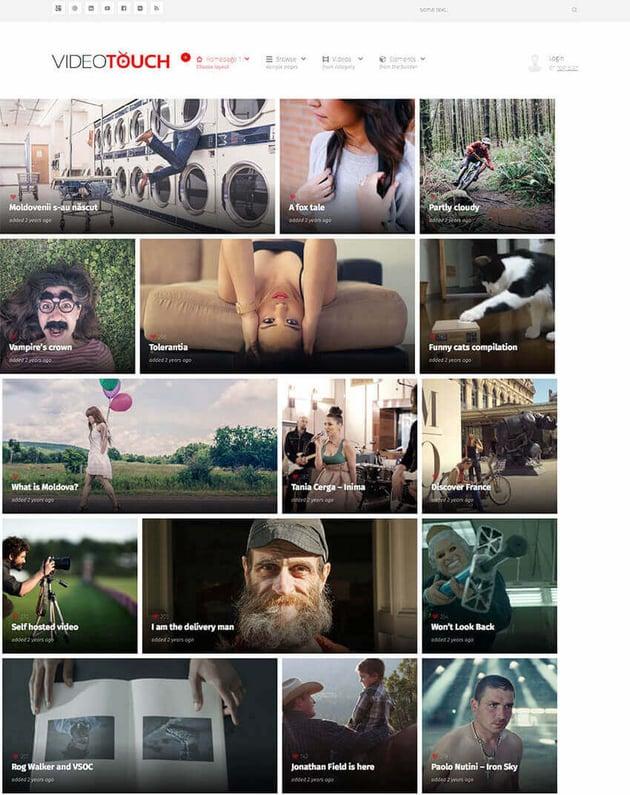 VideoTouch - Flexble Video WordPress Theme