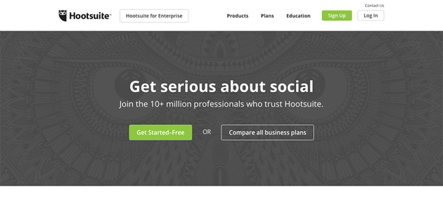 HootSuite - Robust social media management tools for scheduling bulk messages