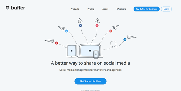 Buffer for basic social campaign tracking