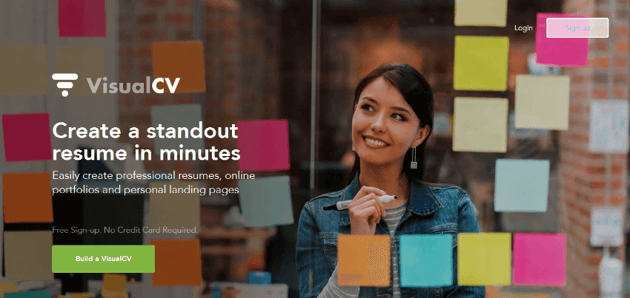 VisualCV - Online Resume Builder