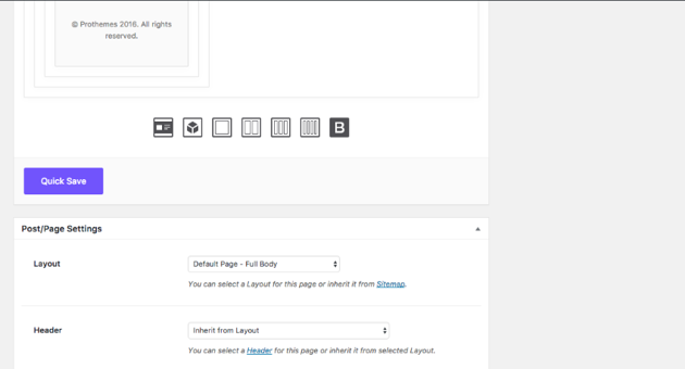 Add sections to your one page website in your WordPress theme