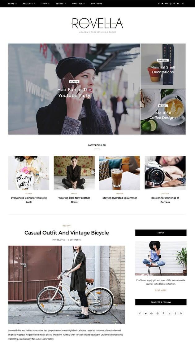 CheerUp Clean WordPress blog theme design