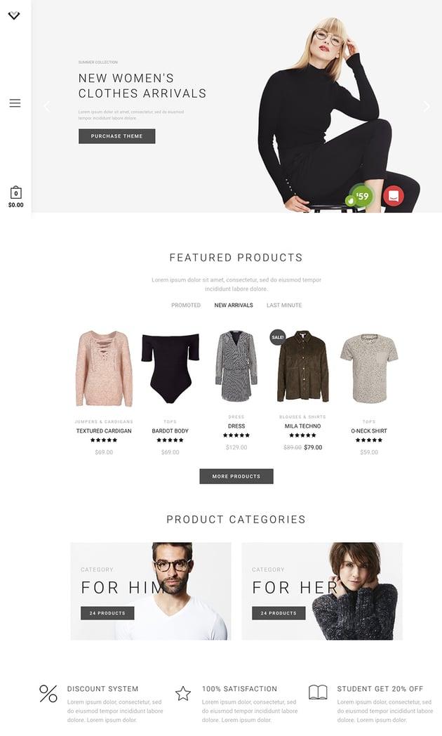 XStore Minimalist E-Commerce Clean WordPress Theme