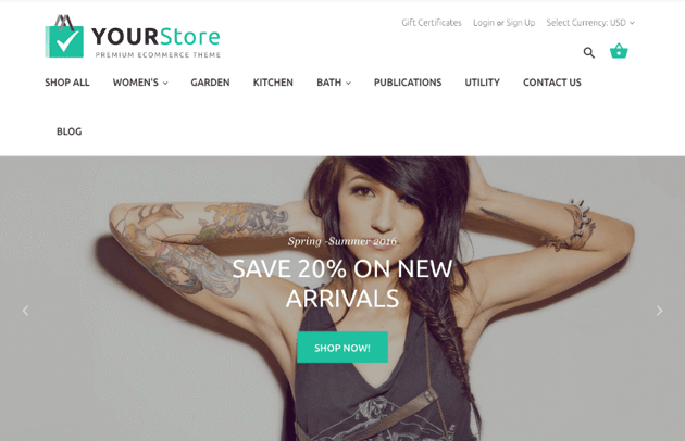 How to use a top BigCommerce theme to design your online store